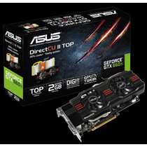 Placa De Vídeo Vga Asus Geforce Gtx660 Ti 2gb