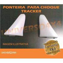 Aplique Parachoque Dianteiro Tracker, Lado Esquerdo