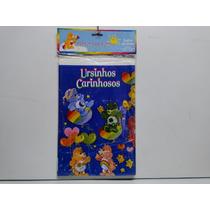 Toalha Plástica Ursinhos Carinhosos(ñbem10frozenbarbiefrozen
