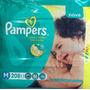 Fralda Pampers Total Confort M - C/ 208 Un. Mega Promoção