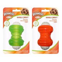 Brinquedo Cães Mordedor Plastico Oito Com Som Pet Shop Cores