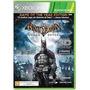Batman Arkham Asylum Xbox 360 Midia Fisica Novo Lacrado Original