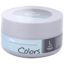 Color Máscara Matizadora Platinum Cabelos Loiros 250g Fox