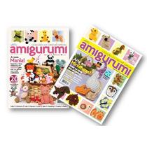 Lote De 2 Revistas - Crochê Amigurumi - Bichinhos Miniaturas