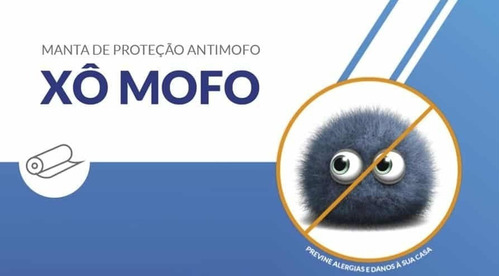 Xô-mofo 60cm X 3m - Manta Antimofo E Bactericida