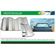 Protetor Solar Metálico Parabrisa, Grande - Med.1,59m X 75cm