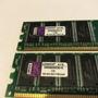 Memória Kingston Ddr400 1gb Kvr400x64c3a 1g Original   Novas