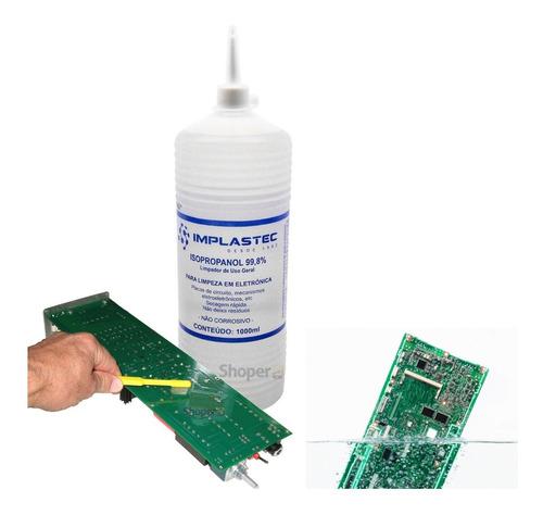Álcoool Isopopilico Limpeza Eletronica, Placas, Circuitos