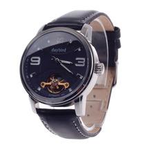 Lindo Relógio Masculino Automático Com Pulseira De Couro