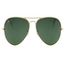 Oculos De Sol Ray Ban Aviador 3025 58mm Lente G15 Original