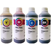 4 Litros Tinta Corante Para Impressora Epson Profeel Inktec