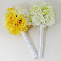 Buquê Bouquet Casamento Para Daminhas Rosas Mescladas