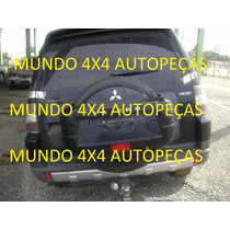 Sucata Pajero Full 3.8 V6 G. 2008 Com Motor E Cambio E Peça
