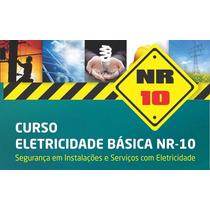 Curso Nr10 Segurança Inst. Elétricas  + Certificado Reconhe