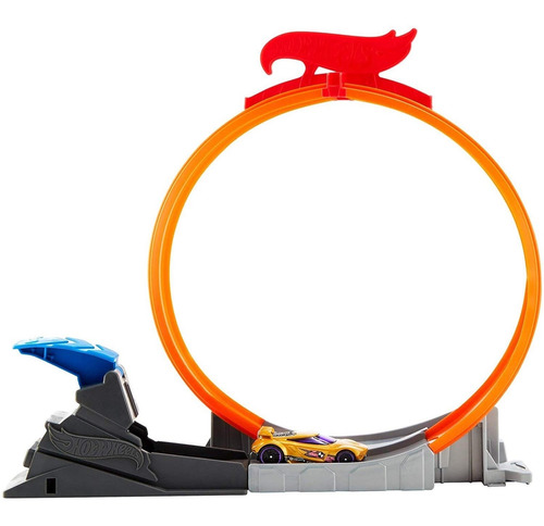 Pista Hot Wheels - Rei Do Looping - Loop Star - Action - Fwm