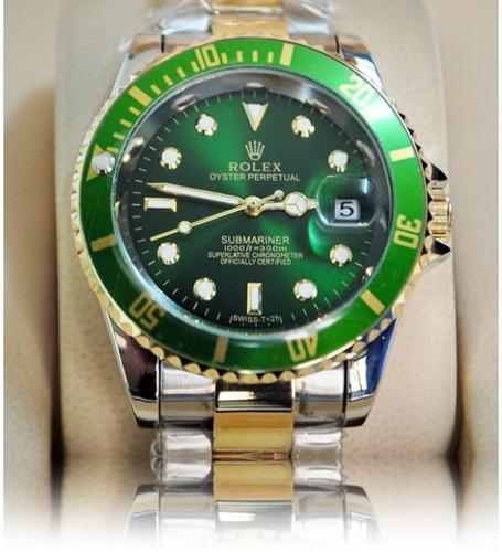 e87cf42082c Relógios Rolex Submariner Silver E Gold C cxa E Papeis+frete