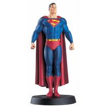 Boneco Miniatura - Superman Dc Comics - Eaglemoss + Revista