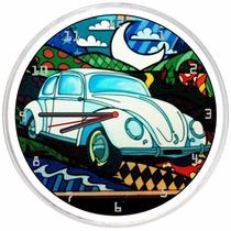 Relógio De Parede Decorativo Fusca Lua Barato Promoção