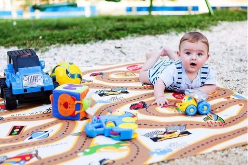 Tapete Tecil Infantil Pracinha Pista 1,30x2,00m