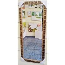 Espelho Grande 100x70cm C/ Moldura - Enviamos P/ Todo Brasil