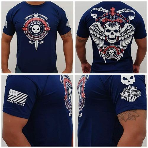 f84a7f07fc Camisa Camiseta Black Skull Edição Especial