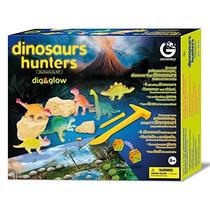 Kit De Escavação Dinossauro Dig&glow Geoworld