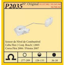 Sensor De Nivel De Combus. Celta Flex - Conj. Bosch - 2005