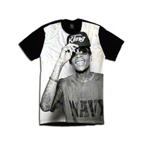Camiseta Personalizada Swag Face Rosto Wiz Khalifa