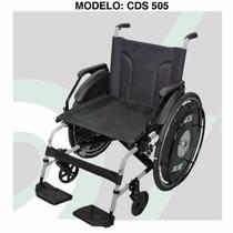Cadeira De Rodas Em Aço Carbono Acolchoada Até 120kg