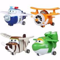 Super Wings 4 Mini Avioes Bello Mira Paul Albert Transform