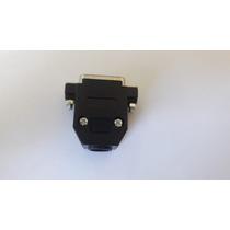 Conector Db15 Macho Solda Com Capa
