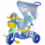 Triciclo Infantil Com Capota 3x1 Vira Gangorra Bel Fix Pedal