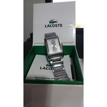 Relógio Lacoste Original Caixa Manual E Nota