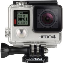 Gopro Hero 4 Silver Camera Go Pro 4 Tela Lcd Wi-fi Lacrada