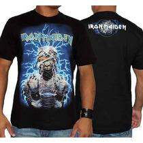Camiseta De Banda - Iron Maiden - Powerslave - House Of Rock