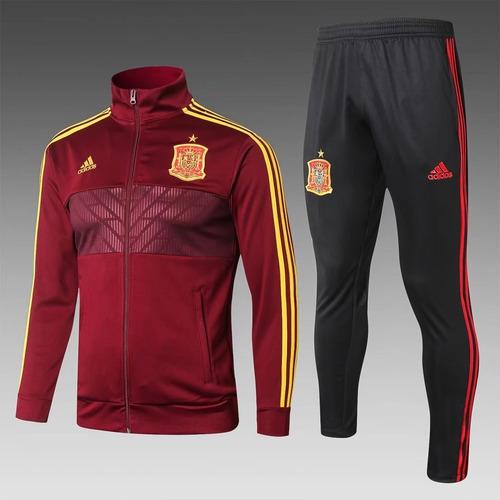 Agasalho Seleção Espanha - adidas Dry-fit 2018 d419be3cac8a9