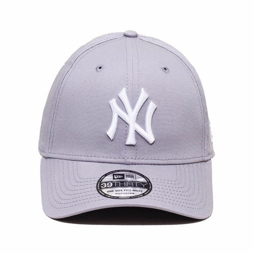 Boné New Era Aba Curva Mlb Ny Yankees Cinza Classic 39thirty - R ... a06d0265c66