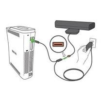 Fonte Kinect Original Microsoft Xbox360 Arcade Fat Adaptado