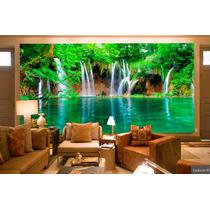 Papel De Parede Cachoeiras Alta Definição 4k- Venda Por M²