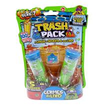 Trash Pack Serie 7 Germes Do Lixo 5 Trashs Original Dtc 3004