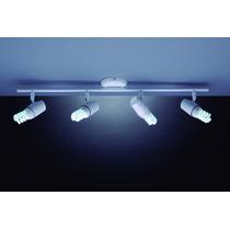 06 Luminária Trilho Sobrepor Arco New Short 4 Luzes E27