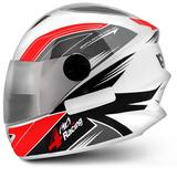 Capacete-4-Racing-Cinza-E-Vermelho-Protork-Viseira-Cromada