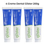 Kit C/ 4 Glister Creme Dental Multi-action Amway - 200g