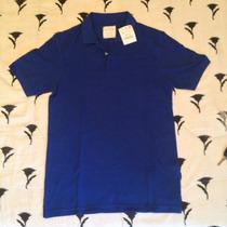 Camisa Zara Piquet Gola Pólo