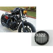 Capa Grelha Para Farol Harley Davidson Sportster 883/1200