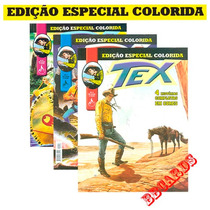 Revista Tex Especial Colorida Myttos Volumes Avulsos - Novas
