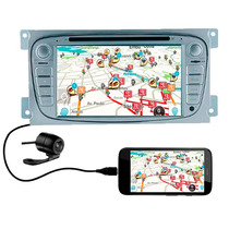 Multimídia Focus 09-13 Gps Dvd Tv Bluetooth Cam Ré