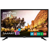 Tv Britania 32 Led Smart Com Netflix