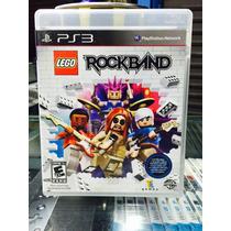 Jogo Lego Rock Band Playstation 3, Original, Lacrado, Guitar