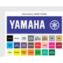 2 Adesivos (par) Yamaha Xt600 Tanque + Frete Grátis !!!!!